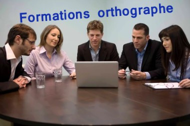 Formations en orthographe