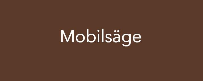 Impressionen Mobilsäge