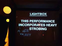 I AM THE NIGHT LIGHTBOX