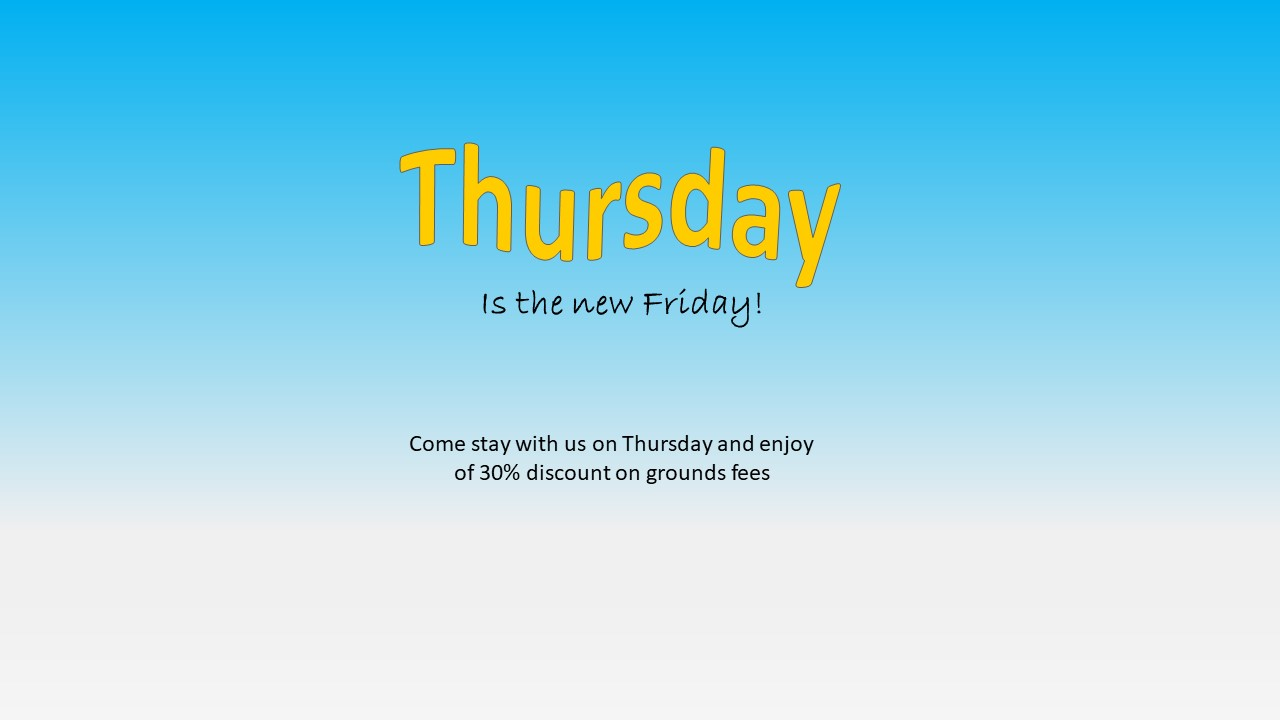 30% Thursday