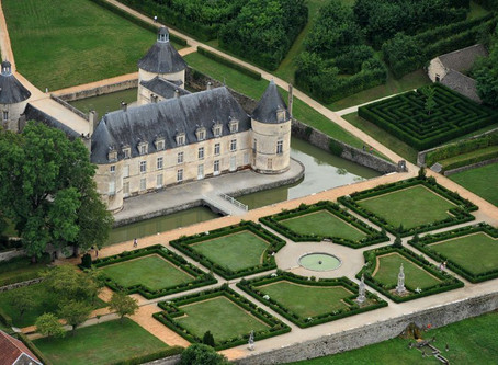 Chateau de Bussy-Rabutin, Bourgogne France 12th-16th August, 2020