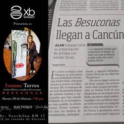 Newspaper interview, Cancun
