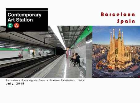 CONTEMPORARY ART STATION BARCELONA Passeig de Gracia