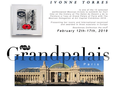 Kisses are on their way to the Palace. Grand Palais Paris, 2019.