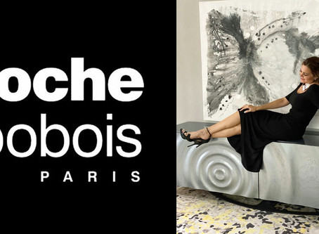 Roche Bobobois + Ivonne Torres Art Monterrey, Collaboration. Soon Santa Fe, Mexico. Stay tuned!!