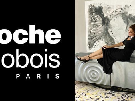 Roche Bobobois + Ivonne Torres Art Monterrey, Collaboration. Soon Santa Fe, Mexico. Stay tuned!!