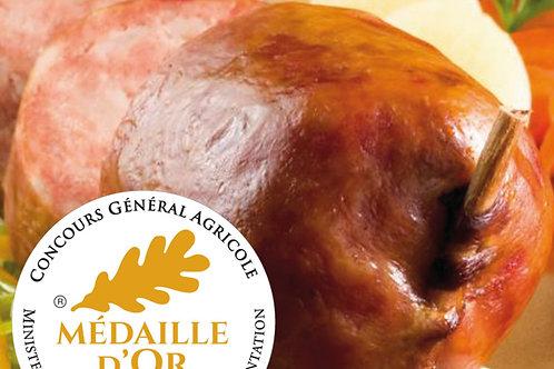 Saucisse de Morteau cuite IGP porcfrançais boyaunaturel s/at12x140g