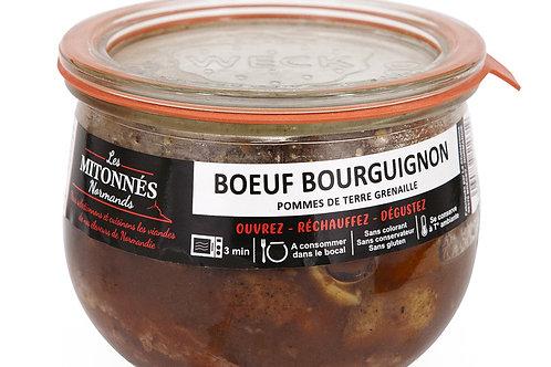 Boeuf bourguignon normand pomme deterre grenaille verrine375g