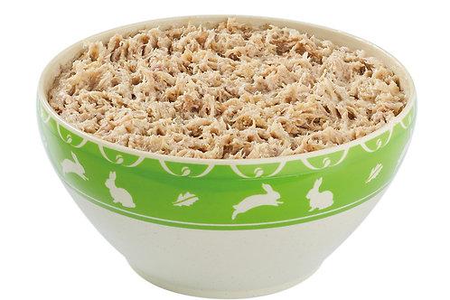 Rillettes de lapin 60% pasteurisées bolplastique 1kg