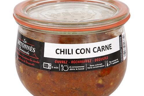Chili con carne de boeuf normand verrine 375g