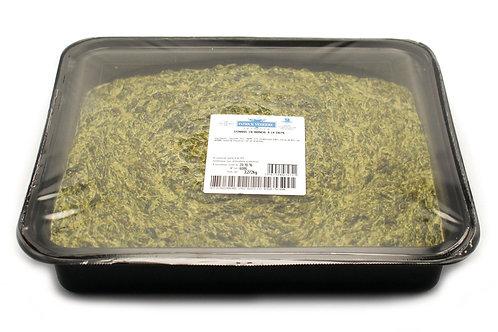 Épinards en branche àlacrème barquette3,2kg