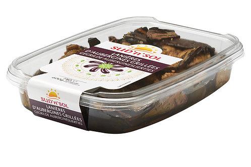 Aubergine grillée marinée lanières barquette1kg