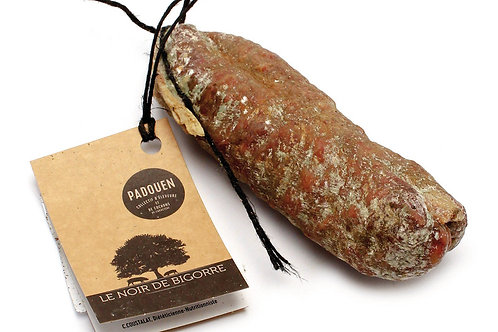 Saucisson de porc noir de Bigorre ±250g