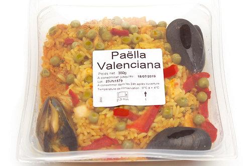 Paella Valenciana barquette350g