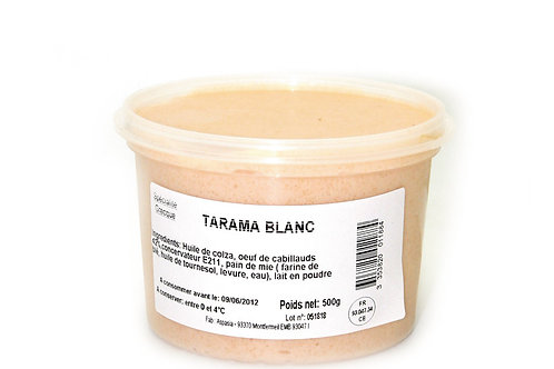 Tarama blanc 500g
