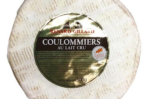 Coulommiers au lait cru 500g