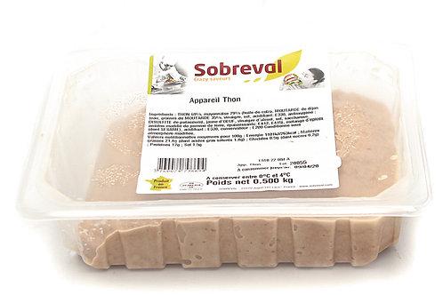 Tartinable thon 500g