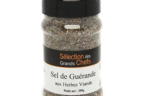Sel de Guérande aux herbes pour viande tubo 330ml 200g