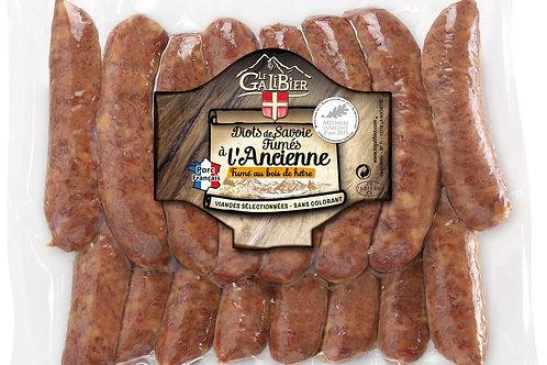 Diots de Savoie fumés s/vide 16x±120g