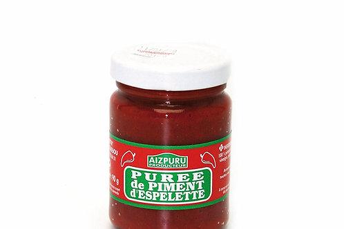 Purée de piment d'Espelette bocal90g