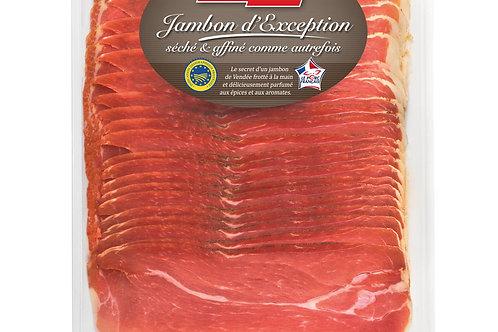 Jambon de Vendée d'exception IGP fines tranches 20 x  +-20g 400g