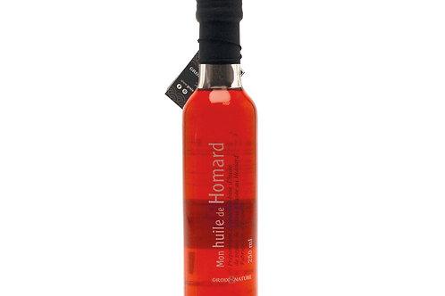 Préparation à base d'huile de pépins de raisin infusée au homard 25cl