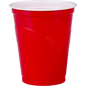 Official ASOBP Red Cups - 50 Pack