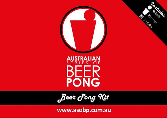 ASOBP Beer Pong Kit