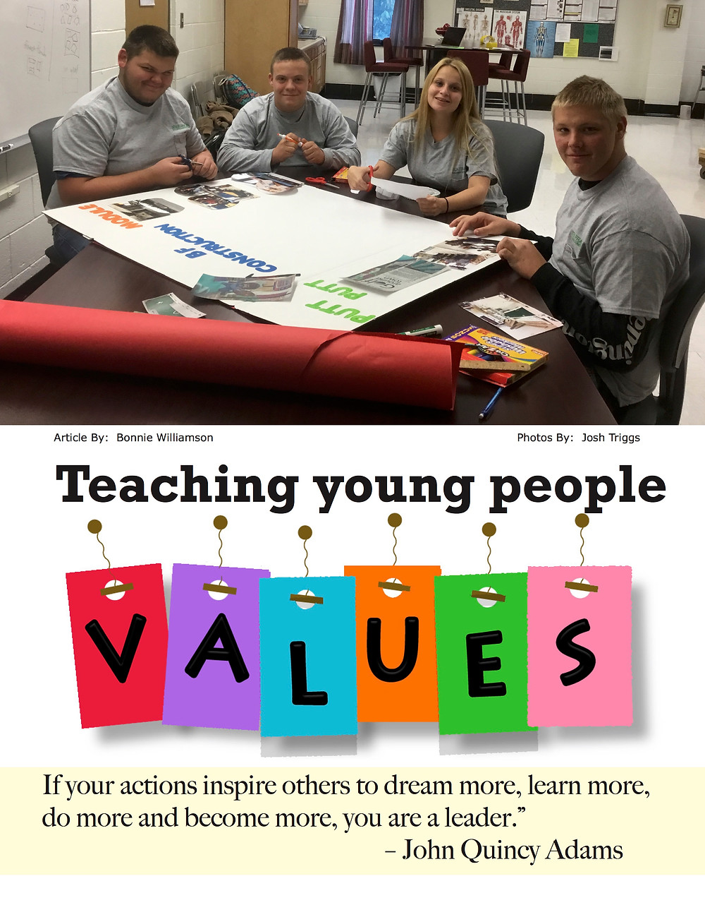 Teaching Young People Values!