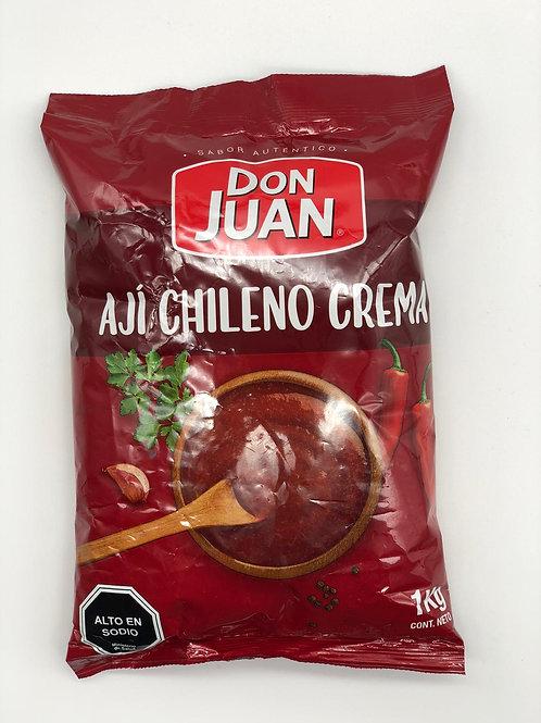 Ají chileno crema Don Juan - 1Kilo