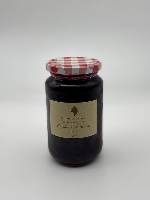 Heidelbeer-Merlot Sauce