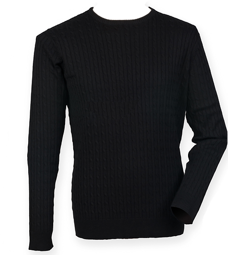 Arlington Wallace Heavy Knitted Cable Sweater