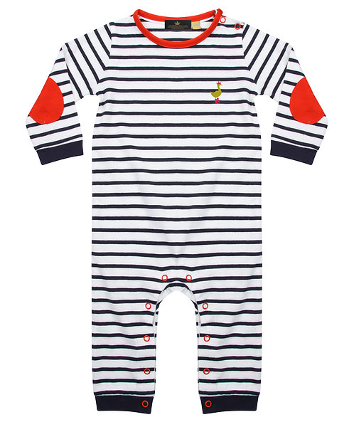 Arlington Wallace Striped Baby Bodysuit