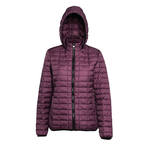 Ladies Arlington Wallace Honeycomb Puffer Jacket
