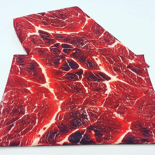 Tecido Estampa Carne