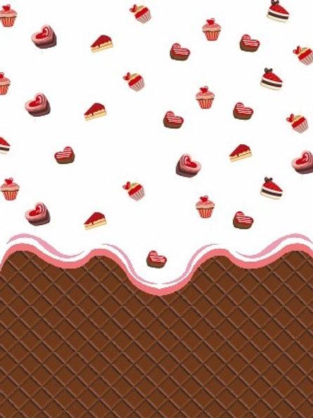 Tecido Chocolate