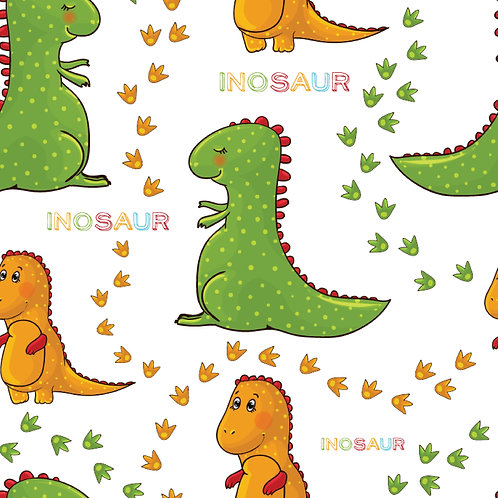Tecido Coleção Dinosauro