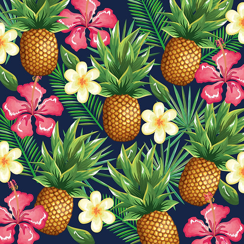 Verão Flores e Abacaxi