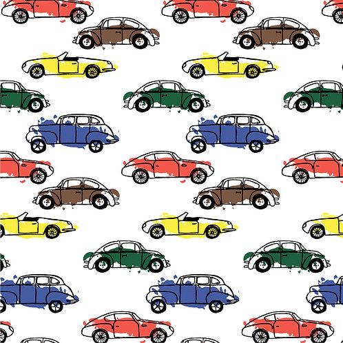 Tecido Coleção Carros