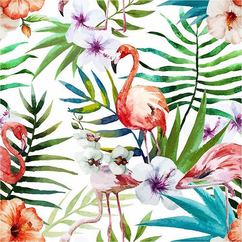 Coleção Verão Flamingo nas Flores