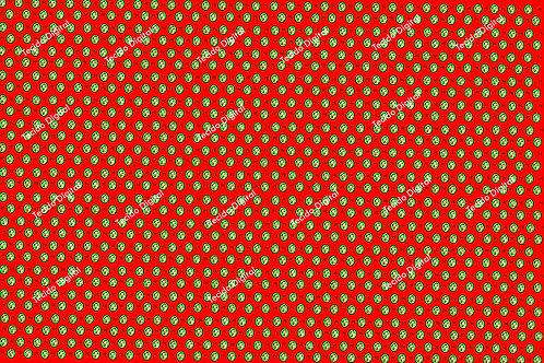 Tecidos Personalizados 1,00 x1,50 Minnie Natal