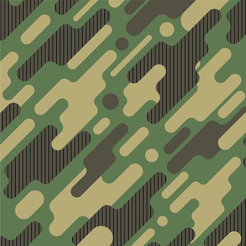 Tecido Coleção Militar