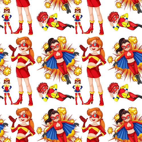 Tecido Coleção Super Heróis