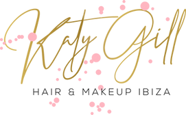 Katy Gill Ibiza makeup artist company logo