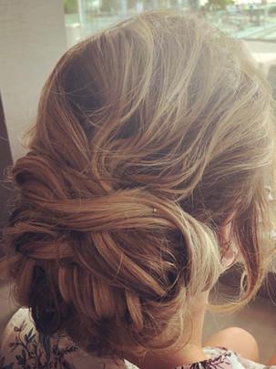 Hair styling by Katy Gill Ibiza Makeup Artist