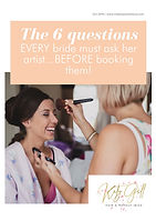 The 6 questions EVERY bride must ask her