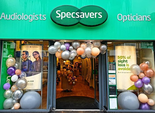 We celebrated with _Specsavers in Wemble