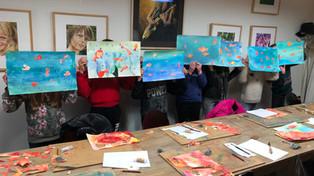 Kinder-schilderfeestje