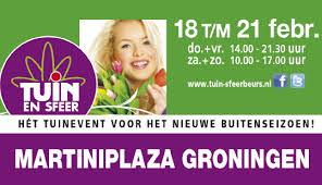 Expositie bij Tuin & Sfeer 2016 Martini Plaza Groningen