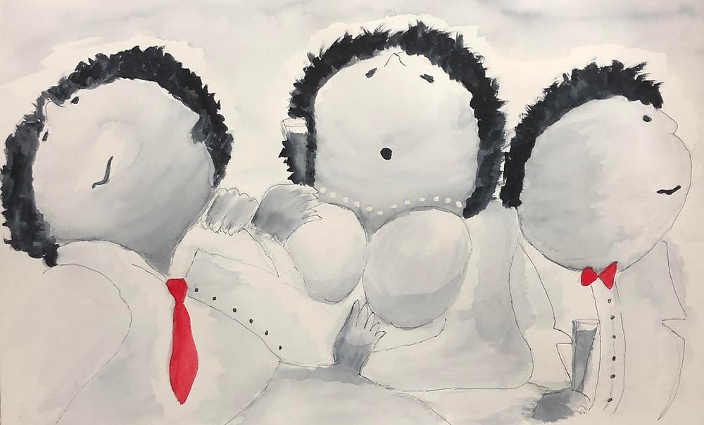 Dat was een gezellige workshop afgelopen vrijdagavond. Er zijn een heleboel 'Dikke Dames' geschilderd.  Lijkt het jou ook leuk om een schilderworkshop bij mij te volgen, bijvoorbeeld met een groep vrienden, familie of collega's, dan ben je van harte welkom :) Je kunt je aanmelden via pb of via www.grietjewillemsma.nl. Ook voor kinderfeestjes trouwens. Groetje van Grietje